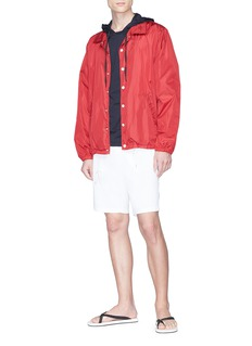 DANWARD Cotton jersey hoodie