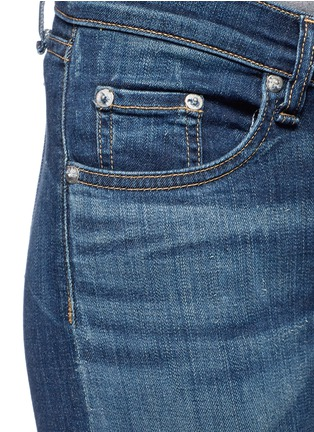 Detail View - Click To Enlarge - rag & bone/JEAN - 'Capri' cropped skinny jeans