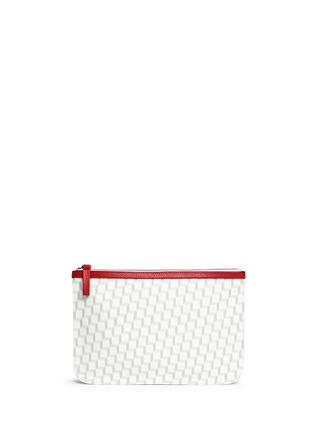 Main View - Click To Enlarge - PIERRE HARDY - Cube print zip pouch