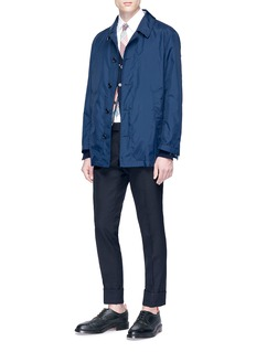 Thom Browne Stripe intarsia cashmere cardigan