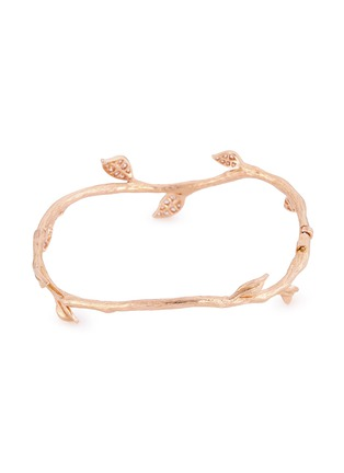 Figure View - Click To Enlarge - Anyallerie - 'Entwined' diamond 18k rose gold branch bangle