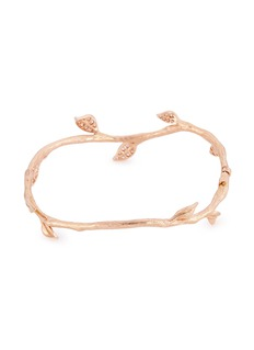 Anyallerie 'Entwined' diamond 18k rose gold branch bangle