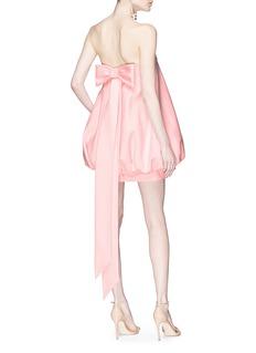 Valentino 'Very Valentino' sash bow strapless balloon dress