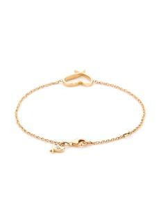 Stephen Webster 'Neon Heart' 18k yellow gold charm bracelet