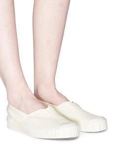 Spalwart 'Special' linen skate slip-ons
