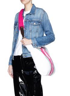 Simonetta Ravizza 'Furrissima' mink fur shoulder strap