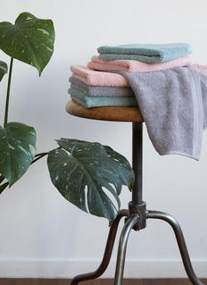 LANE CRAWFORD Hand towel –Moss