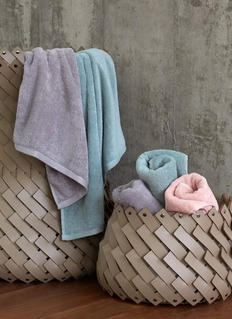 LANE CRAWFORD Bath towel –Moss