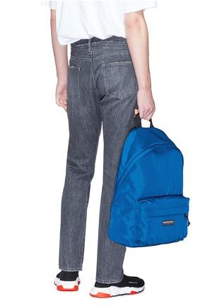 Figure View - Click To Enlarge - Balenciaga - 'Explorer' canvas backpack