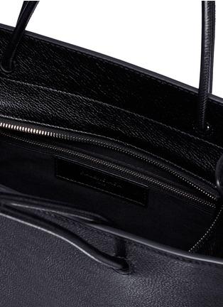 Detail View - Click To Enlarge - Balenciaga - 'North-South' logo print medium leather tote bag