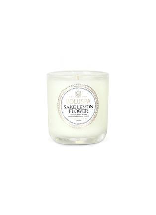 Main View - Click To Enlarge - VOLUSPA - Maison Jardin Sake Lemon Flower scented votive candle 85g
