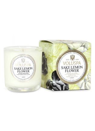 - VOLUSPA - Maison Jardin Sake Lemon Flower scented votive candle 85g