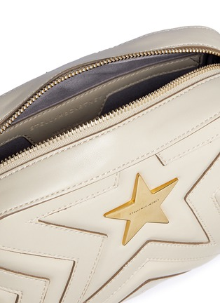 Detail View - Click To Enlarge - Stella McCartney - 'Stella Star' quilted faux leather crossbody bag