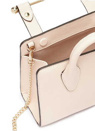 Detail View - Click To Enlarge - Strathberry - 'The Strathberry Nano' leather tote