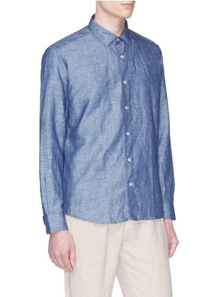 Front View - Click To Enlarge - Altea - Linen-cotton shirt