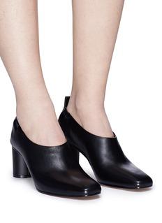 Gray Matters 'Micol' choked-up nappa leather pumps
