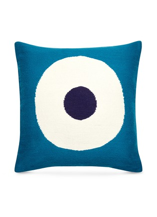 Main View - Click To Enlarge - JONATHAN ADLER - Lucky Strike Pop cushion –Turquoise