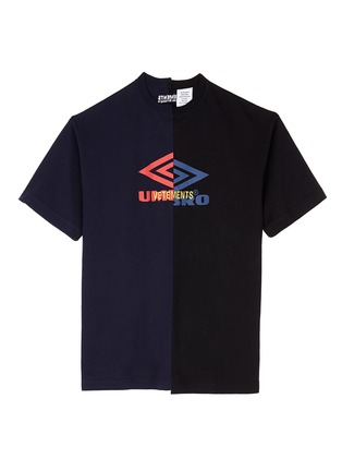 Main View - Click To Enlarge - Vetements - 'Umbro' logo print patchwork T-shirt