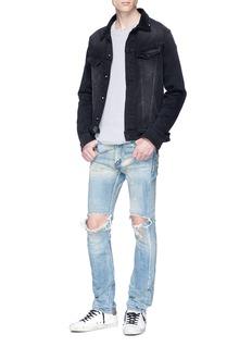 NOVE Ripped skinny jeans