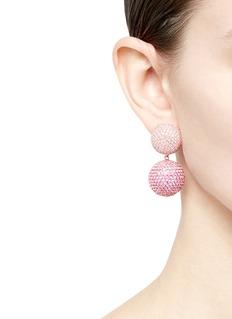 Anabela Chan 'Bauble' sapphire detachable drop earrings