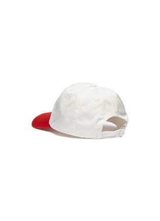 Figure View - Click To Enlarge - Acne Studios - 'Carliy Face' emoticon patch colourblock baseball cap