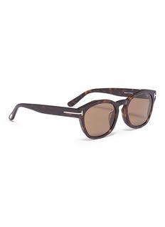TOM FORD 'Bryan 02' tortoiseshell acetate square sunglasses