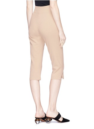 Back View - Click To Enlarge - JACQUEMUS - 'Le Corsaire' high waist cropped suiting pants