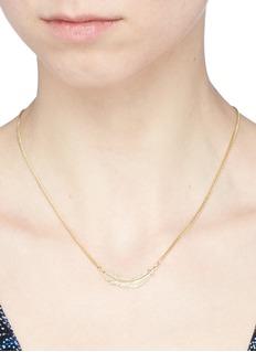 Philippe Audibert 'Logan' feather pendant necklace
