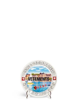 Main View - Click To Enlarge - VETEMENTS - Geneva print plate