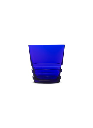 Main View - Click To Enlarge - SAINT-LOUIS CRYSTAL - Oxymore tumbler – Dark Blue