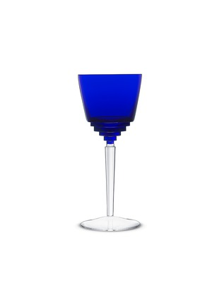 Main View - Click To Enlarge - SAINT-LOUIS CRYSTAL - Oxymore hock glass – Dark Blue