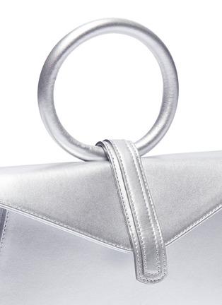 - Complét - 'Valery' mini metallic leather envelope clutch