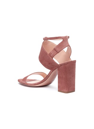 Detail View - Click To Enlarge - Nicholas Kirkwood - 'Eva' suede sandals