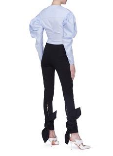 Leal Daccarett 'Francisca' bow tie cuff pants