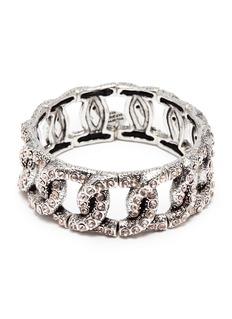 Philippe Audibert 'Princess' Swarovski crystal chain effect elastic bracelet