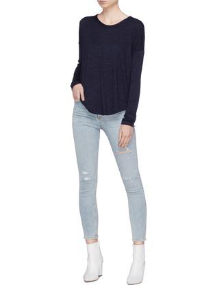 58414f8eace8 RAG & BONE/JEAN | 'Hudson' long sleeve T-shirt | Women | Lane Crawford