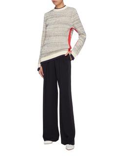 VICTORIA, VICTORIA BECKHAM Stripe outseam sweater
