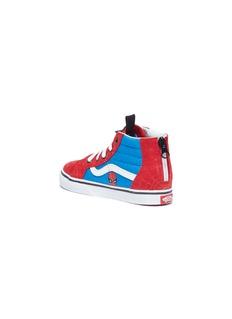 Vans x Marvel 'Sk8-Hi Zip' Spider-Man print toddler sneakers