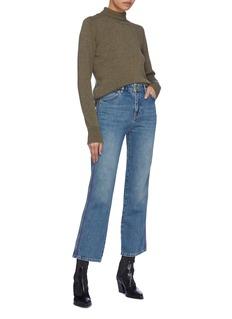 VICTORIA, VICTORIA BECKHAM 'Cali' stripe outseam jeans