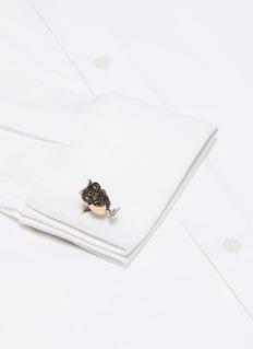 Deakin & Francis  Moveable owl cufflinks