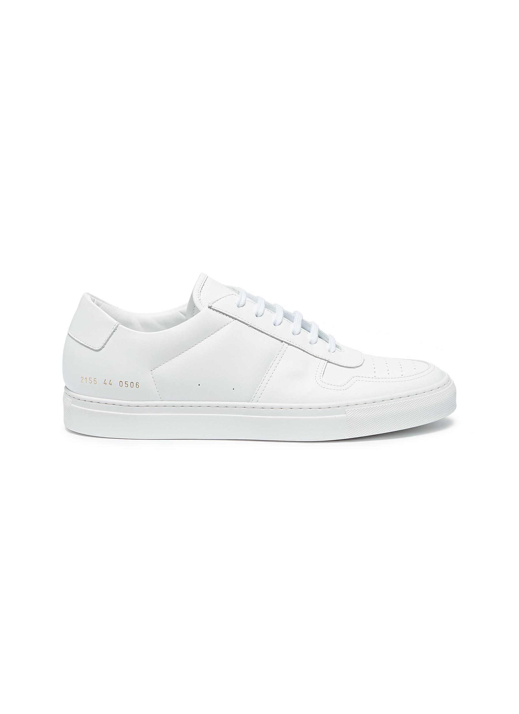 0be43fd09458 Common Projects.  Bball Low  leather sneakers