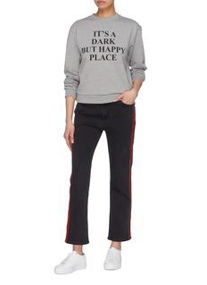 VICTORIA, VICTORIA BECKHAM Slogan print sweatshirt