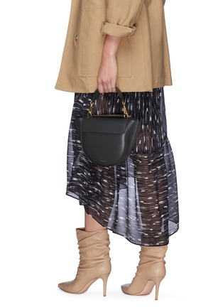 Front View - Click To Enlarge - Wandler - 'Hortensia' mini leather shoulder bag