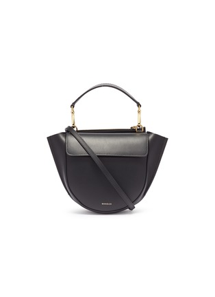 Main View - Click To Enlarge - Wandler - 'Hortensia' mini leather shoulder bag