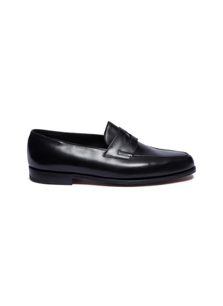 Main View - Click To Enlarge - JOHN LOBB - Lopez' leather penny loafers