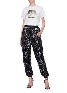 Fiorucci Sequin jogging pants