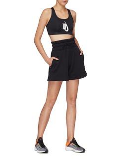 NikeLab 'NRG' drawstring wide waistband sweat shorts