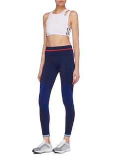 NikeLab Belted cutout shoulder sports bra