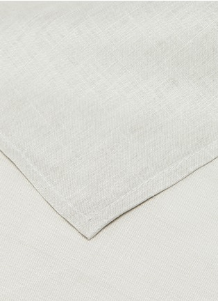 Detail View - Click To Enlarge - CHILEWICH - Single Sided Napkin – Bone