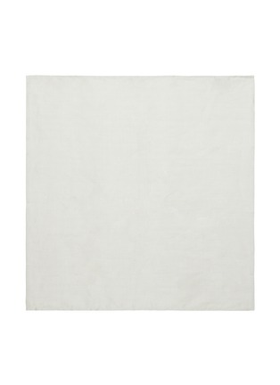 Main View - Click To Enlarge - CHILEWICH - Single Sided Napkin – Bone